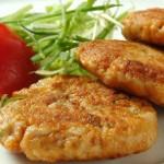 Вегетарианские «рыбные» котлеты