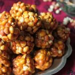 Шарики со сгущенкой в арахисе