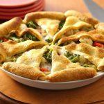 «Мексиканское Солнце». Овощной пирог