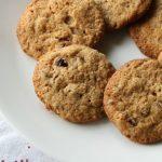 Печенье ржаное с сухофруктами
