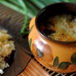 Рис в горшочках, запечённый в духовке