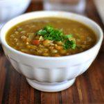 Болгарский суп из чечевицы — леща чорба