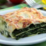 Лазанья со шпинатом и сыром фета