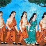 История про Драупади, Арджуну и Бхиму