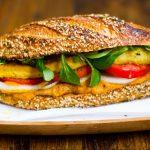 Вегетарианские сэндвичи с тофу