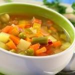 Овощной суп с зерновыми хлопьями