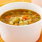 Суп гречнево-томатный