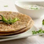 Матар Паратха: лепёшки с зелёным горошком