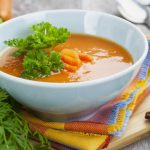 Мили-джули сабджи ка суп (овощной суп пюре)