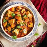 Овощное рагу — матар алу таркари